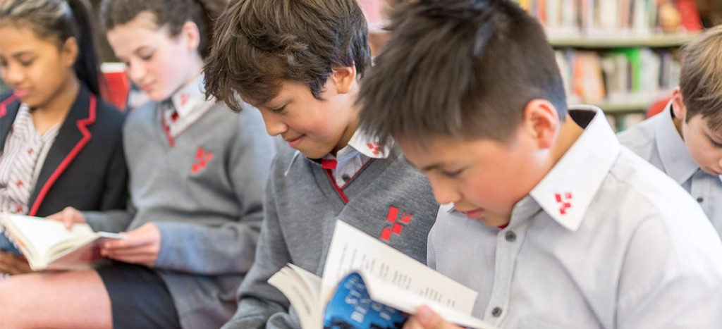 Footscray High School - Students Reading In Library